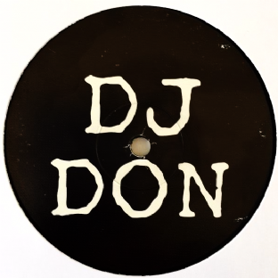 "DJ Don ‎- Untitled (12"") (Promo) (G-VG/NM)"
